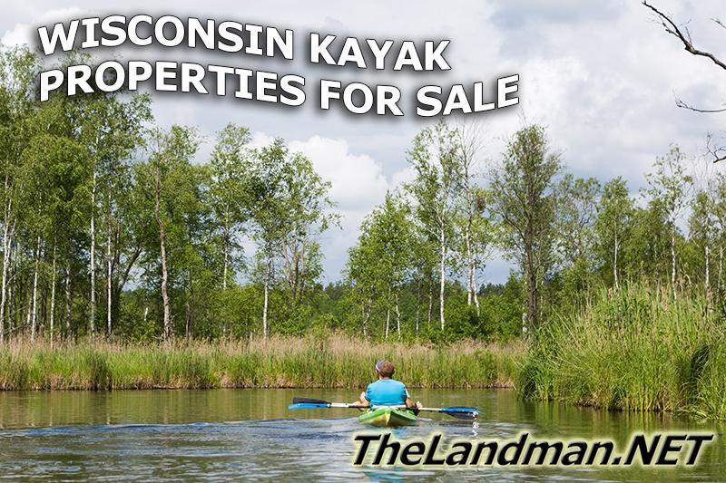 Wisconsin Kayaking Properties for Sale