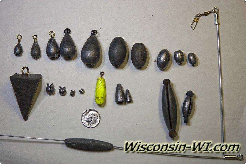 Basic fishing tackle used in wisconsin for Basic fishing gear