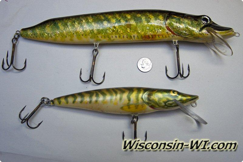 Musky fishing lures baits tackle gear used in wisconsin for Muskie fishing wisconsin