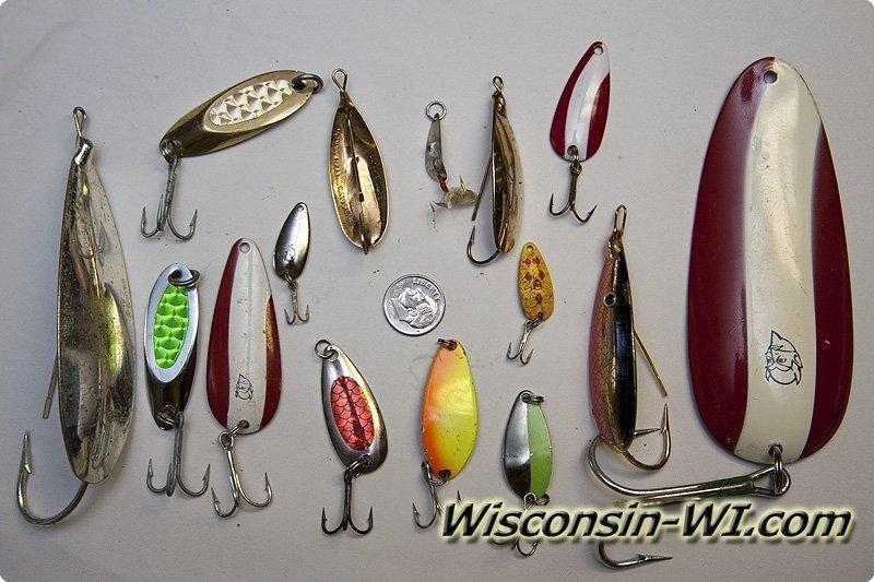 photos types of fishing lures, Hard Baits