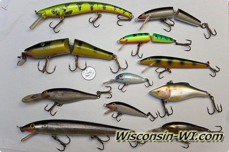 Walleye fishing lures baits tackle gear used in wisconsin for Walleye fishing tackle