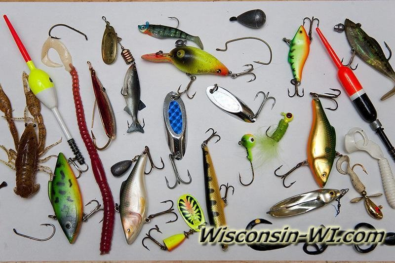 Photos of Walleye Fishing Lures and Tackles