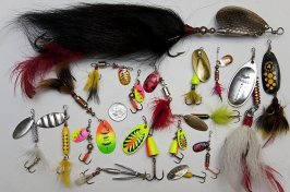Photos of Spinner Baits and Lures