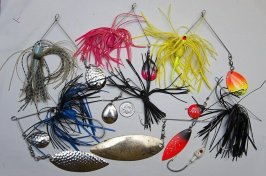 Photos of Bass Fishing Lures and Tackle