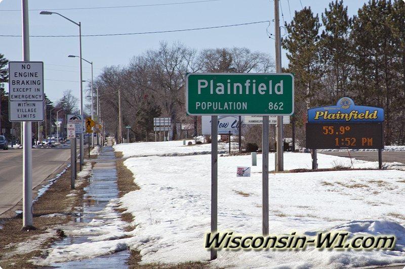 Plainfield Wi 54966 Waushara County Wisconsin Oasis Township Sand Lake