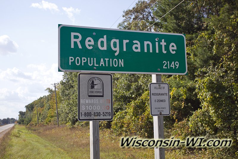 Redgranite Wisconsin