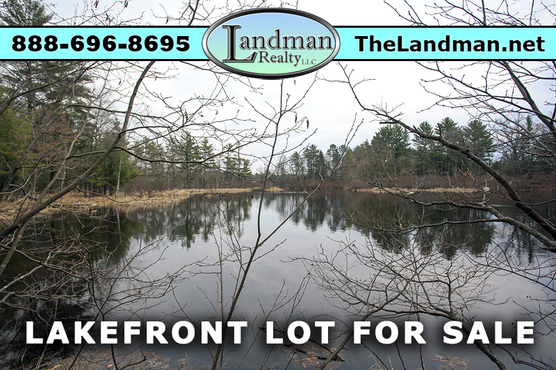 Friendship Lake Waterfront lot for Sale
