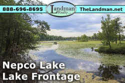 Nepco Lake Lot for Sale Wisconsin Rapids