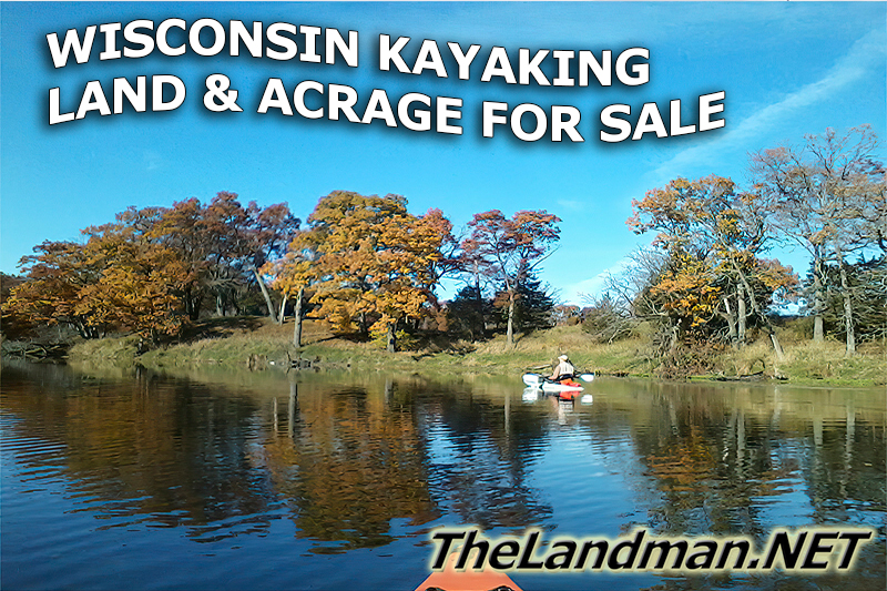 Wisconsin Kayaking Land and Acrage for Sale 50K to 70K